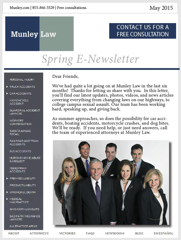 May 2015 Newsletter